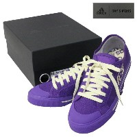 adidas(アディダス) ラフシモンズ コラボスニーカー『RAF SIMONS MATRIX SPIRIT LOW』(PURPLE×WHITE)【27.5cm/US9.5】BB2687...