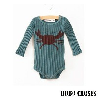 《BOBO CHOSES/ボボショセス》Long Sleeve Body Crab your hands