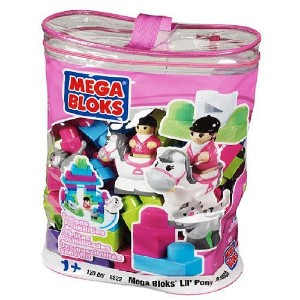 メガブロック ポニー Mega Bloks Lil Pony Ranch Building Blocks