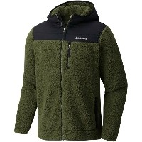 コロンビア メンズ アウター ジャケット【Mountain Side Heavyweight Full - Zip Hoodies】Surplus Green/Black