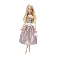 Barbie Princess Doll - Pink and Gold Dress by Barbie