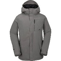 ボルコム メンズ スキー スポーツ L Insulated Gore-Tex Hooded Jacket - Men's Charcoal