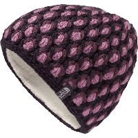 ノースフェイス レディース 帽子 アクセサリー Briar Beanie - Women's Dark Eggplant Purple/Black Plum Multi
