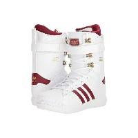 アディダス メンズ ブーツ&レインブーツ シューズ Superstar ADV Footwear White/Collegiate Burgundy/Gold Metallic