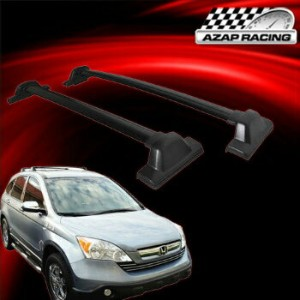 クロスバー 2007-2011 Black OE Factory Style Top Roof Rack Cross Bar For Honda Crv CR-V 2007-2011ブラックOEファク...
