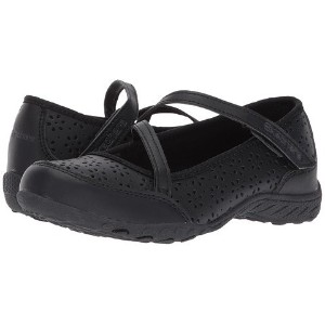 (スケッチャーズ) SKECHERS キッズスニーカー・靴 Breathe Easy 82277L (Little Kid/Big Kid) Black 3.5 Big Kid 21.5cm M ...