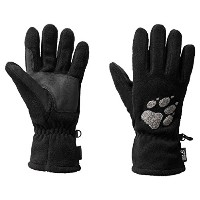 Jack Wolfskin Paw Gloves Gants en polaire Mixte adulte Black L