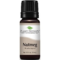 Plant Therapy Nutmeg Essential Oil. 100% Pure, Undiluted, Therapeutic Grade. 10 ml (1/3 oz). by...