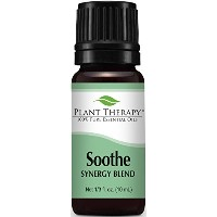 Plant Therapy Soothe Synergy Essential Oil Blend. 100% Pure, Undiluted, Therapeutic Grade. Blend of...