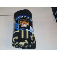 MLB Pittsburgh Pirates Wicked Printed Fleece Throw、50-inch by 60-inch
