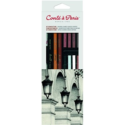 Contテδゥ テδ Paris Sketching and Drawing Pencils Studio Sketch Set by Cont Paris