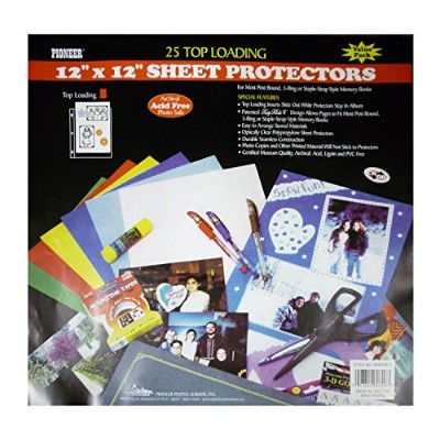 Pioneer Bulk Sheet Protectors for 12 x 12 Pages by Pioneer Photo Albums