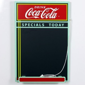 Coca - Cola Wood Chalkboard