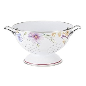 MARIEFLEURキッチンStrainer by Villeroy & Boch–Colander Madeからエナメルスチール–食器洗い機セーフ