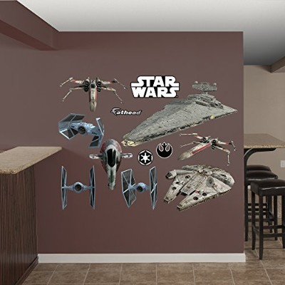 Fathead Star Wars Original Trilogy Spaceships Collection Real Decals by FATHEAD