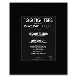 FOO FIGHTERS - Tour Dates 2015 Saturday 5th till Tuesday 8th September Mini Poster - 28x21cm