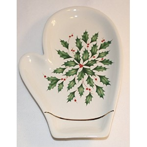 Lenox American ByデザインHoliday Mitten Spoon Rest
