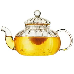 beylorガラスティーポット耐熱性500 ml with infuser for Tea Leaf Loose Tea 600 ml LMA