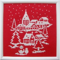 Brodees 刺繍キット K207 White Christmas to you!