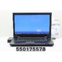 lenovo ThinkPad SL510 CeleronDC T3100 1.9GHz/2GB/160GB/Multi/15.6W/FWXGA(1366x768)/Win7 リカバリメディア付属...