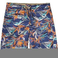 パタゴニア メンズ 水着 水着 Patagonia Printed Wavefarer Board Short - Men's Piton Paradise/Channel Blue