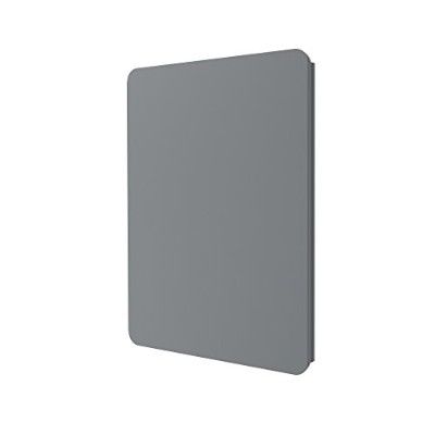 Incipio Faraday Folio - Flip cover for tablet - polycarbonate, vegan leather - gray - for Apple 9.7...