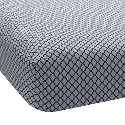 Lambs & Ivy Jensen Collection Fitted Sheet, Lattice by Lambs & Ivy