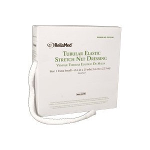 Reliamed Tubular Elastic Net Dressing, Size 1, X-Small, Fingers, Toes and Wrist by Reliamed