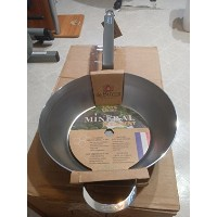 De Buyer Mineral 12.5 Inch Steel Country Pan by De Buyer