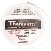 CanDo? Antimicrobial Theraputty? Exercise Material - 5 lb - Red - Soft
