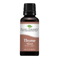 Plant Therapy Thyme Thymol Essential Oil. 100% Pure, Undiluted, Therapeutic Grade. 10 ml (1/3 oz)....