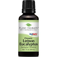Plant Therapy USDA Certified Organic Eucalyptus Lemon Essential Oil. 100% Pure, Undiluted,...