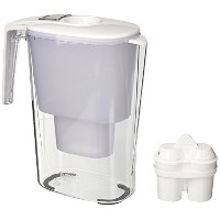BWT Mineral Water Pitcher with 2カートリッジ、3.6-liter、ホワイト
