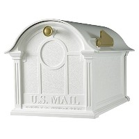 Whitehall Products Balmoral Mailbox, White by Whitehall