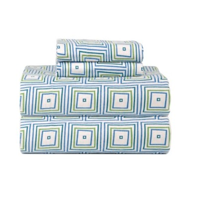 (Twin X-Large, Matrix) - Celeste Home Ultra Soft Flannel Sheet Set with Pillowcase, Twin X-Large,...