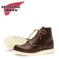 """【RED WING JAPAN正規取扱店】レッドウィング 8134 Classic Work / 6"""" Round-toe クラシックワーク チョコレート"""