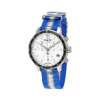 ティソ Tissot 腕時計 メンズ 時計 NBA バスケットボール Tissot Quickster Dallas Mavericks Chronograph Mens Watch...