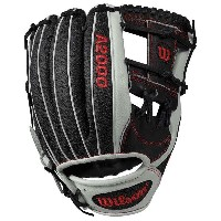 ウィルソン メンズ 野球 グローブ【Wilson A2000 1787 Superskin H-Web Fielder's Glv】Black/White