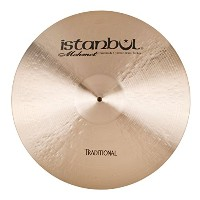 """Istanbul Mehmet Cymbals Traditional Series Ride Ping Cymbals (21"""")"""