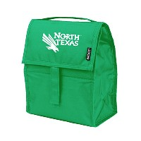 NCAA North Texas Mean Green Packit Freezableランチバッグ、グリーン