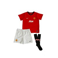 Nike Toddler Manchester United Home Uniform Kit Red/Black/White 2013-14/サッカー キッズセット マンチェスター・ユナイテッド...