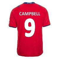 Lotto Campbell #9 Costa Rica Home Jersey World Cup 2014 YOUTH /サッカーユニフォーム コスタリカ ホーム用 ワールドカップ2014...