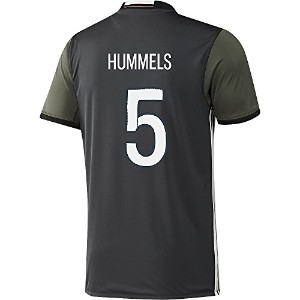 Adidas HUMMELS #5 Germany Away Soccer Jersey Euro 2016(Authentic name and number of player)...