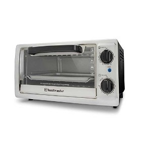 Toastmaster TM-102TR 4-Slice Toaster Oven, 10-Litre, Silver by Toastmaster