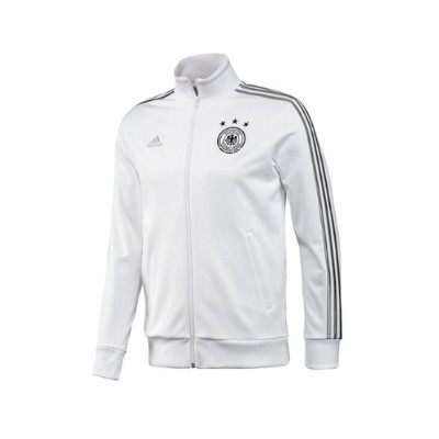 Adidas Germany Track Top Men's White-Silver (XL)