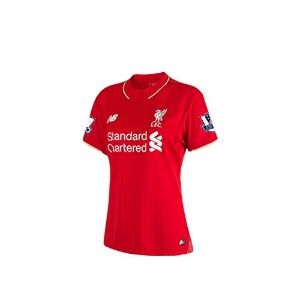 New Balance Liverpool FC Women's Short Sleeve Home Jersey-Red 2015-16/サッカーユニフォーム リヴァプールFC ホーム用...