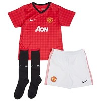 Nike Manchester United Home Little Boys '12-'13 Soccer Kit (Red/White)/サッカー キッズセット マンチェスター・ユナイテッド...