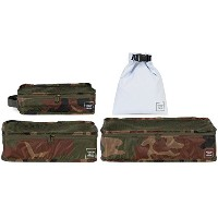 Herschel Supply Co. トラベルポーチ 10297 STANDARD ISSUE TRAVEL SYSTEM(W.CAMO(00188),4点セット)