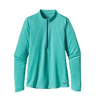 patagonia(パタゴニア) W's L/S Fore Runner Zip Neck(HWLT) US-M:23695