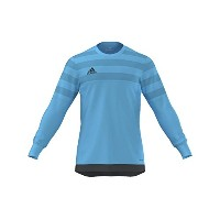 Adidas Entry15 -GOALKEEPER Jersey -(Blue)-YOUTH /サッカーゴールキーパージャージー Entry15 ジュニア向け (Y-Large)